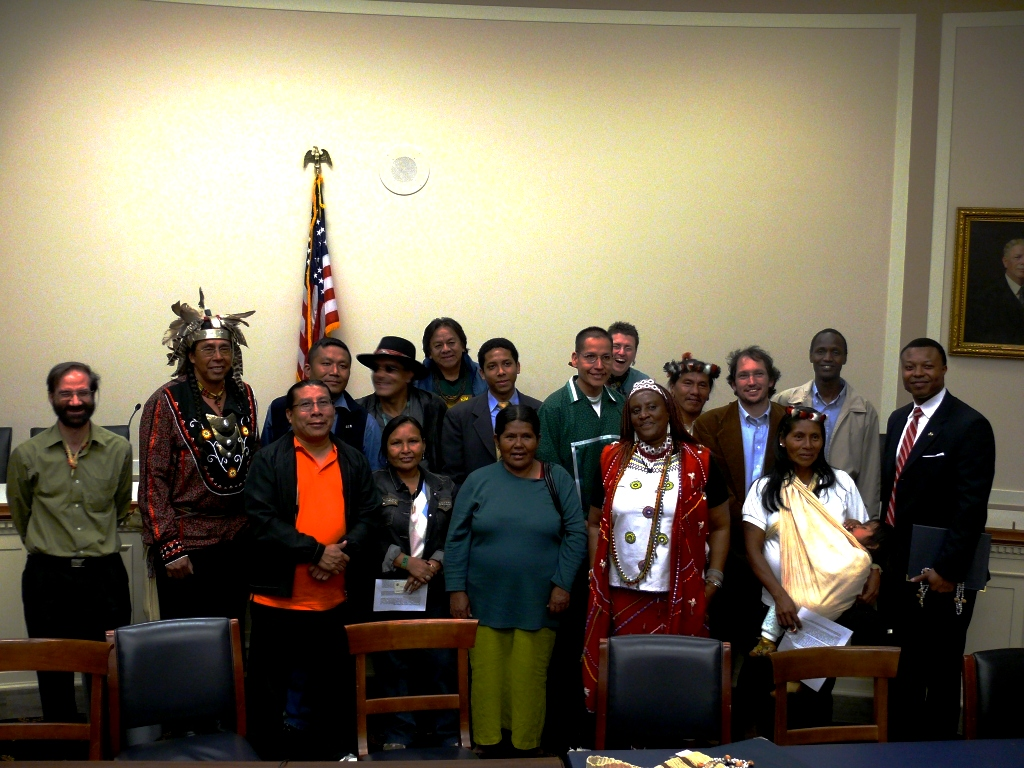 Indigenous - House Committee -   Save America's Forests photo copyright